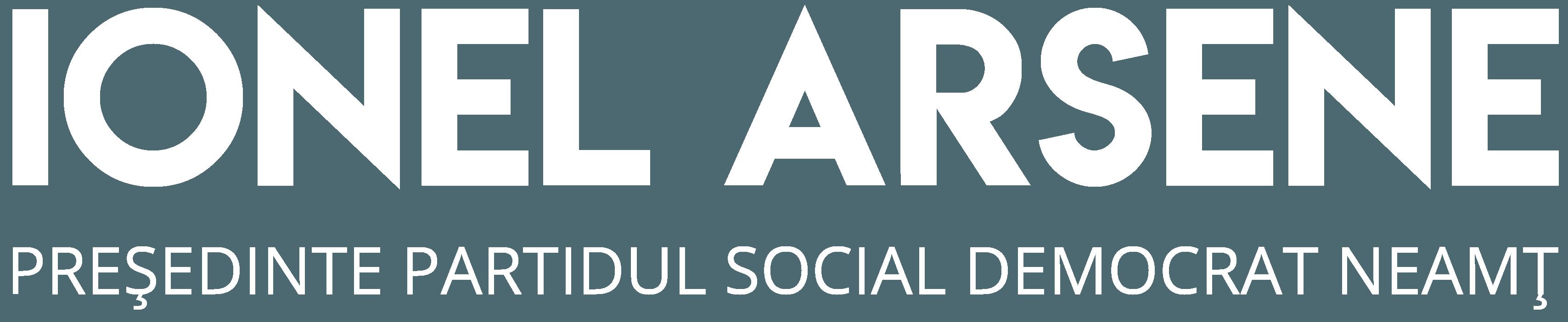 Ionel Arsene - Presedinte Partidul Social Democrat Neamt